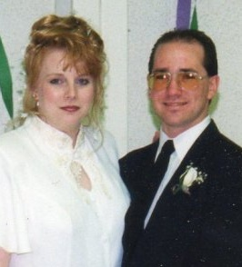 Rob Healey and his wife, Michelle