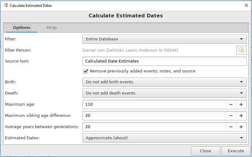 calculate dates