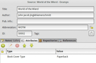 Source Editor and related attributes